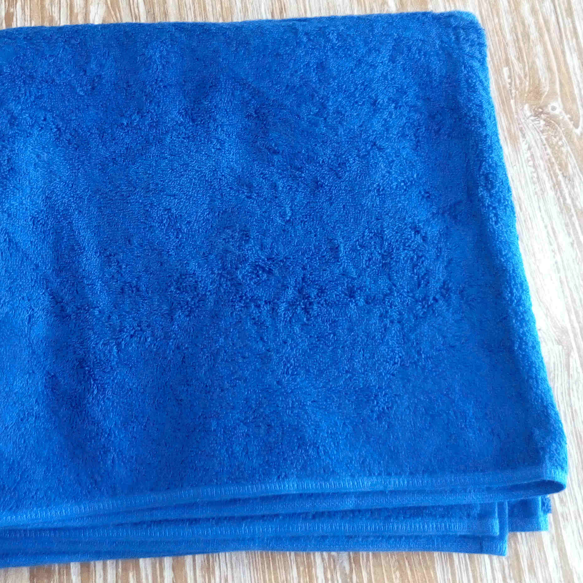 Bath Towel - Blue - BaliOz