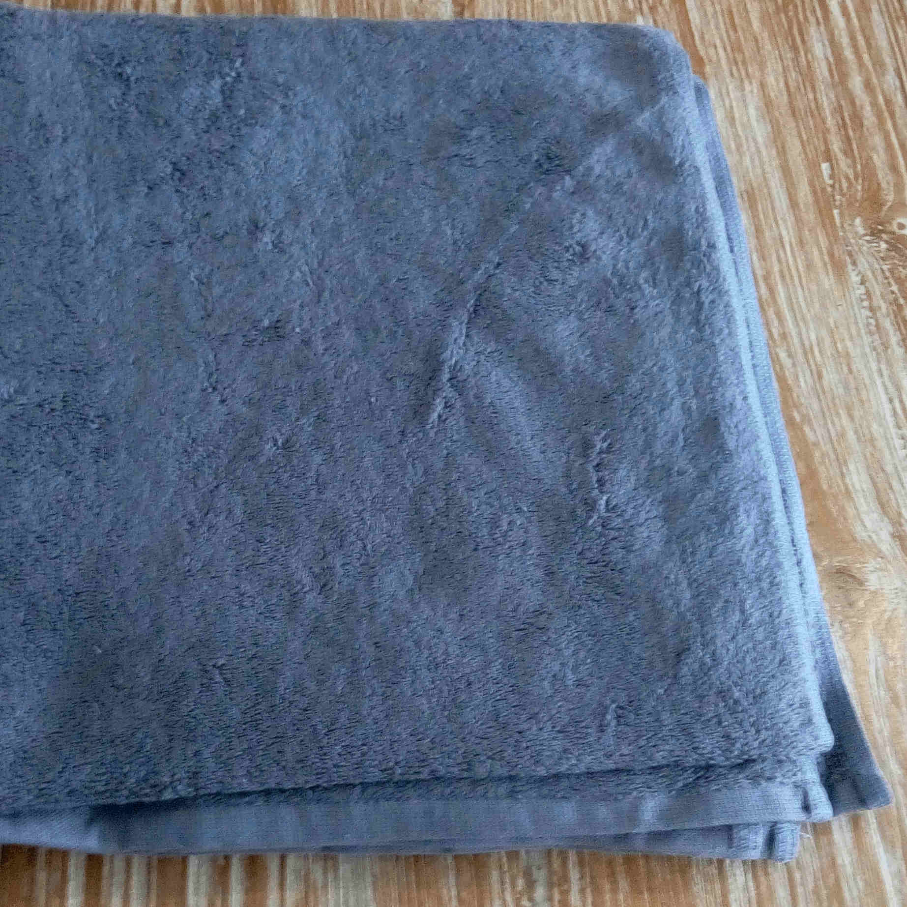 Bath Towel - Grey - BaliOz