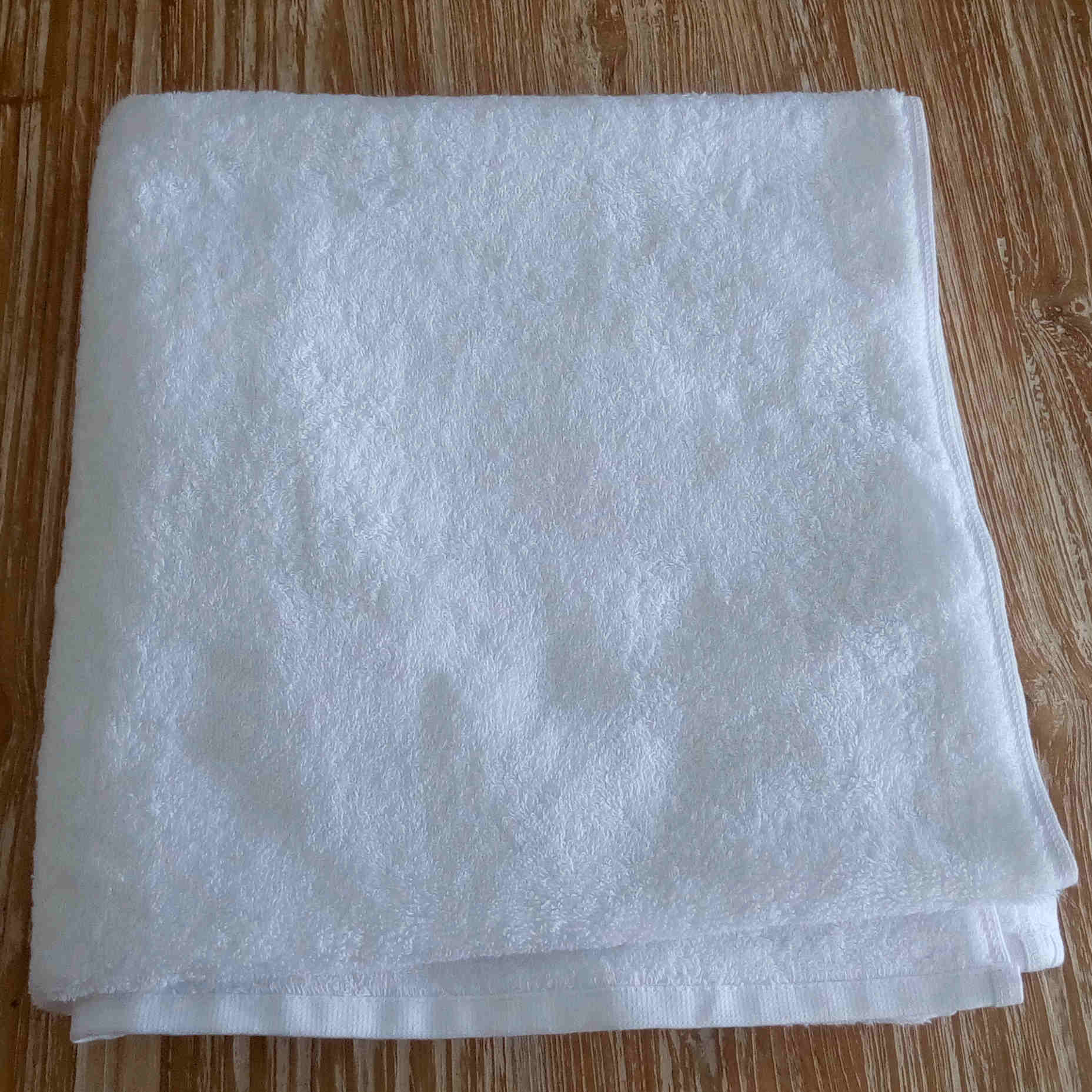 Bath Towel - White - BaliOz