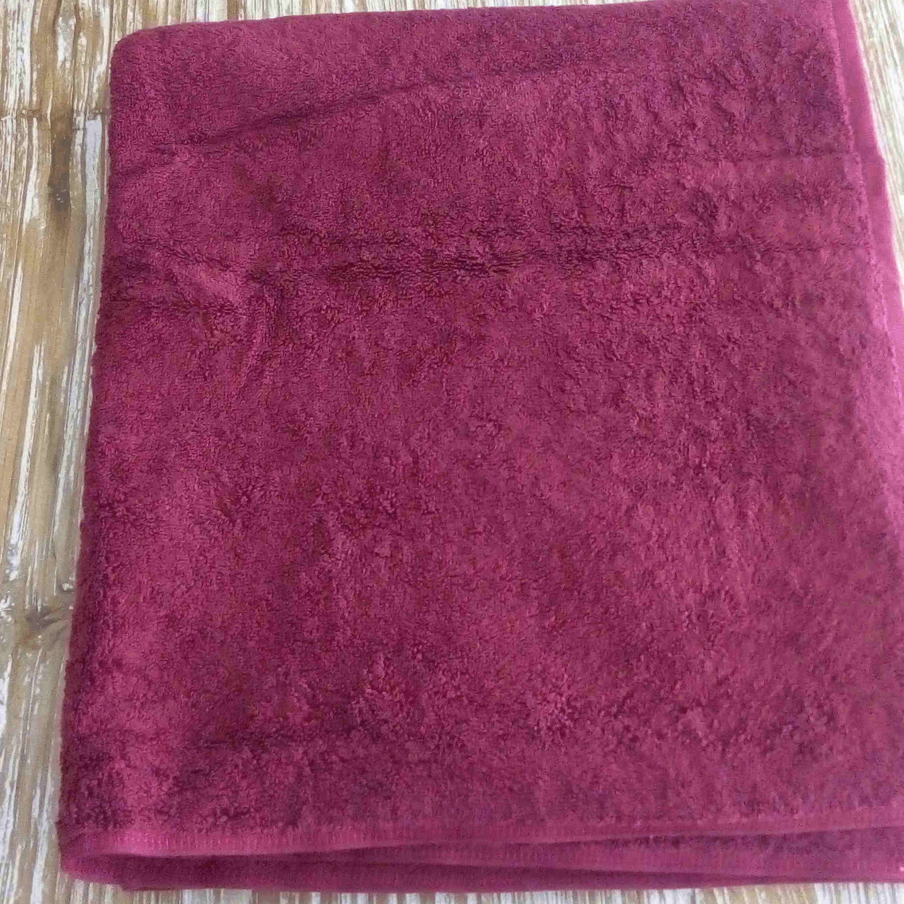 Medium Towel - Maroon - BaliOz